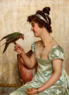 Художник Vittorio Reggianini (1858-1938).. Обсуждение на LiveInternet - Российский Сервис Онлайн-Дневников