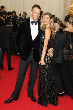 Tom Brady and Gisele Bundchen in Balenciaga