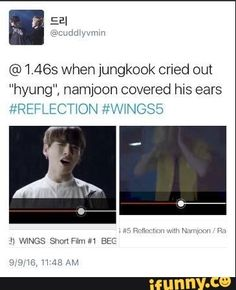 "when jungkook cried out ""hyung"" namjoon covered hws ears ION ""\WNCbB - iFunny :) Kpop, Namjoon, Taehyung, Theories About The Universe, Bts Theory, Bts Mv, Bts Facts, Rap Lines, Album Bts"