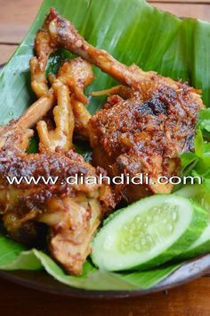 Asian Recipes, Beef Recipes, Chicken Recipes, Cooking Recipes, Healthy Recipes, Lombok, Finger Snacks, Diah Didi Kitchen, Malay Food