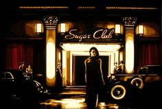 Tape art by Max Zorn - Sugar Club Red