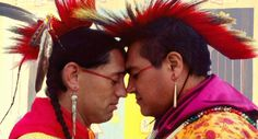 BIGOTS! NATIVE AMERICANS BAN SAME-SEX MARRIAGE! --------------------------------------------------- Native Americans are REALLY in for it from the left.....said no one ever.