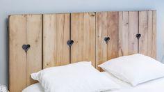 Cabecero para dormitorio minimalista con aires nórdicos #decoración #decogarden #dormitorio
