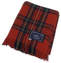 Tartan throws are the best, but god not this color. I had to wear this tartan skirt for eight years in grade school.