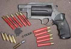 Thunder 5 410 & 45 Colt revolver. Great collector's item.