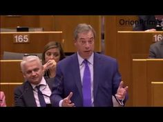 Nigel Farage At EU Parliament - Let Hungary Join The Brexit Club 26th Ap...