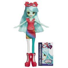 MLP Equestria Girls Rainbow Rocks Lyra Heartstrings Encore/Neon Doll