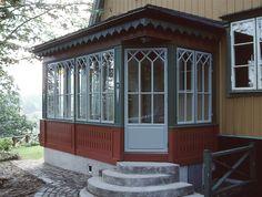 Verandafönster & spröjsade fönster till veranda / orangeri | RM Snickerier