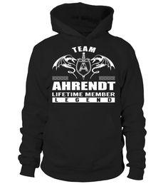 Team AHRENDT Lifetime Member Legend #Ahrendt