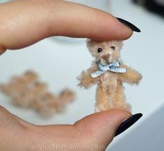 The Multicrafteral Lab: The five minute mini teddy bear