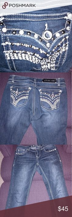 LAidol usa jeans Worn a few times, but they are in great condition. LA idol  Jeans Boot Cut