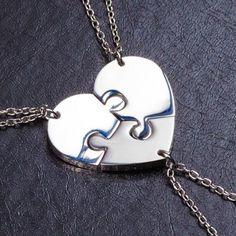 Кулон сердце - Для троих