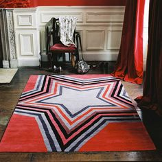 Star Red Carpet | Designed by Paul Smith for The Rug Company