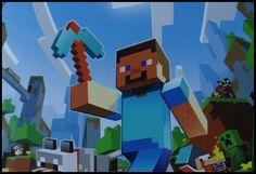 Tipps und Ideen für eine Kindergeburtstag Minecraft Mottoparty zu feiern. Kostenlose Einladungen, Bastelideen, Kostüme & Outfit, Essen, Dekoration, uvm. findet ihr auf motto.de