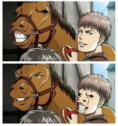 Funny Anime Memes Otaku Lol Shingeki No Kyojin Ideas Anime Meme, Funny Anime Pics, Manga Anime, Memes Lol, Aot Memes, Funny Memes, Aot Funny, It's Funny, Attack On Titan Meme