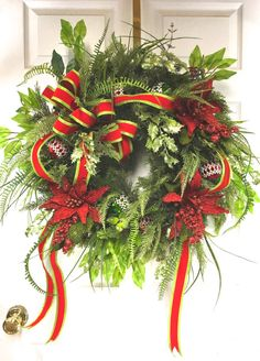 Traditional Christmas Wreath, Nature Inspired Christmas Wreath,Rustic Christmas Wreath,Christmas decoration