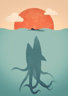 Sharktopus  ByFiliskun