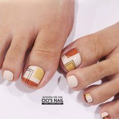 Over 50 Incredible Toe Nail Designs for Your Perfect Feet Fall Nails nails fall off hand foot mouth Toenail Art Designs, Pedicure Designs, Pedicure Nail Art, Toe Nail Designs, Toe Nail Art, Manicure Ideas, Feet Nail Design, Wedding Acrylic Nails, Pretty Toe Nails
