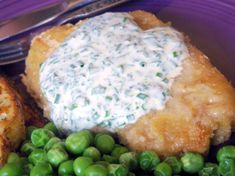 Panko-Crusted Pork Chops With Creamy Herb Dressing Recipe - Food.com