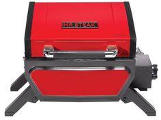 Mr. Steak's 1-Burner Portable Infrared Grill Heats Up to 1000ºF
