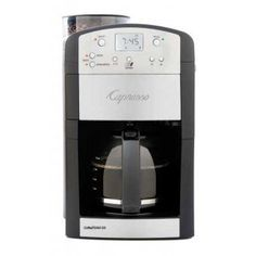 Capresso Coffee Team GS | Capresso Coffee Team GS - Programmable coffee maker with coffee grinder. | $189.00