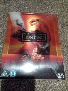 The lion king #3d+2d  uk limited edition lenticular #steel book uk #blu-ray seale,  View more on the LINK: 	http://www.zeppy.io/product/gb/2/162366734757/