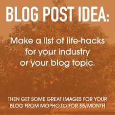 Today's blog post idea. Lists To Make, How To Make, Blog Topics, Life Hacks, Ideas, Thoughts, Lifehacks