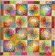 Ball Joints quilt by Susan Purney Mark · Quilting | CraftGossip.com