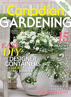May 2013 issue: Easy DIY designer containers; Plan your garden path; Win the garden trip of your dreams and more! Garden Paths, Garden Art, Garden Ideas, Dreaming Of You, Easy Diy, Gardening, Dreams, How To Plan, Plants