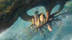 Treehouse Castle - Brainstorm by JamesCombridge.deviantart.com on @DeviantArt