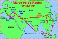 Enchanted Learning page of Marco Polo related activities - there are quite a few