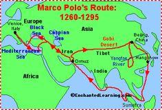 Marco Polo: Explorer (printable) - EnchantedLearning.com