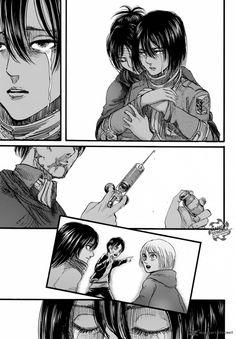 Manga Drawing, Manga Art, Anime Art, Eren Aot, Armin, Mikasa, Manga Magazine, Snk Scan, Titan Manga