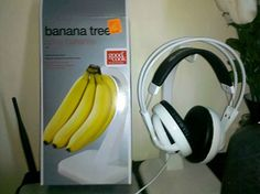banana holder headphones