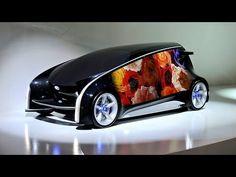 トヨタ自動車の「スマートフォンにタイヤを4つ付けたような車」。