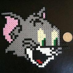 Tom (Tom & Jerry) perler beads by horiuchisan_perlers