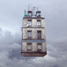 Flying Houses by Laurent Chehere | iGNANT.de