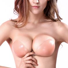 2b7827ecd7491 Strapless Sticky Invisible Silicone Adhesive  Bras Backless  amp  Push-up  Bra TCDBR0001 -