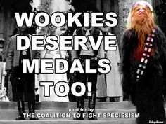 Wookies Deserve Medals Too!