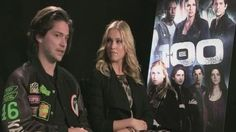 Stars of new drama 'The 100,' Eliza Taylor and Thomas McDonell, talk about the relationship between their two characters Finn and Clarke and admit making the show was extremely physically demanding.
