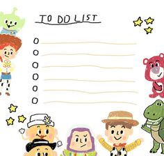 toy story memo, by sleepyymoo Cute Notes, Good Notes, Imprimibles Toy Story, Memo Notepad, Note Doodles, Journal Stickers, Note Paper, Writing Paper, Disney Wallpaper