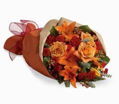 Vibrant flower bouquet in burning amber red orange flowers! great deal Send Flowers Online, Order Flowers, Online Florist, Local Florist, Red Rose Bouquet, Flower Bouquets, Flowers Australia, Send Roses, Mini Carnations