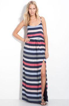 BCBGeneration Stripe Maxi Dress