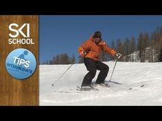 Foot Rotation / Hockey Stop - Tips for Intermediate Skiers - YouTube