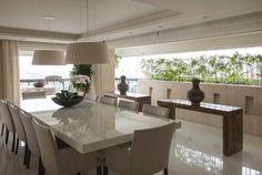 home-tour-apartamento-tons-neutros-projeto-debora-aguiar-05 Decor, House Design, Interior, Interior Architecture, Dining Table, House Styles, New Homes, Home Decor, Living Room Interior