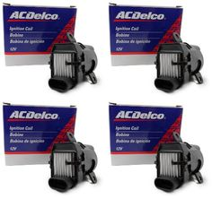 Introducing Four New OEM ACDelco Ignition Coils D585 10457730 UF262 C1251 BSC1251 19279910. Get Your Car Parts Here and follow us for more updates!