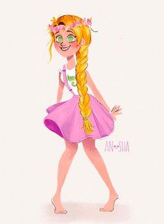 disney-ilustracao-roupasmodernas-rapunzel