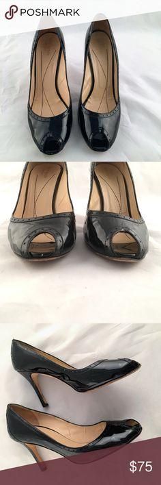 0434541f39e Kate Spade Patent Leather Peep Toe Heels Size 10B Brand  Kate Spade Size   10B