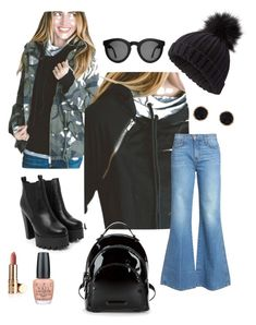 Weekend chic by bethcp14 on Polyvore featuring polyvore, fashion, style, Current/Elliott, Nasty Gal, Kendall + Kylie, Humble Chic, Miss Selfridge, Crap,  OPI and clothing  #mindymaesmarket #dreamcloset