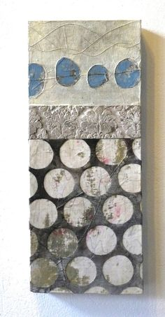 The Daily Muse: Cordula Kagemann, Mixed Media / Collage Artist Curated by… Collages, Collage Artists, Ideas Collage, Encaustic Art, Painted Paper, Mix Media, Mixed Media Collage, Medium Art, Oeuvre D'art